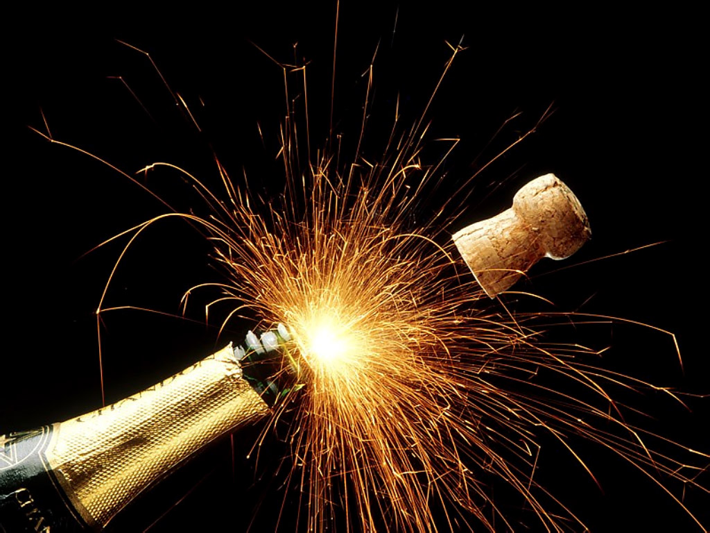 estoura o champagne